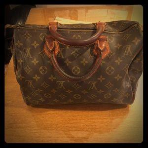 Authentic Vintage Louis Vuitton Speedy Bag